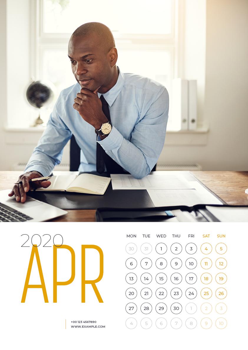 Calendar 2020
