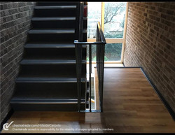 commercial project stairs