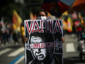 Angry Brazilians take to streets and demand Bolsonaro's impeachment