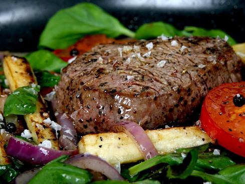 The Best Steak on Yas Island Abu Dhabi, UAE: The Blue Grill Steakhouse Rotana Hotel