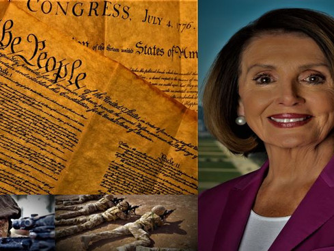 Our Military Upholds the Constitution While Democrats Shred their Oath and the Constitution