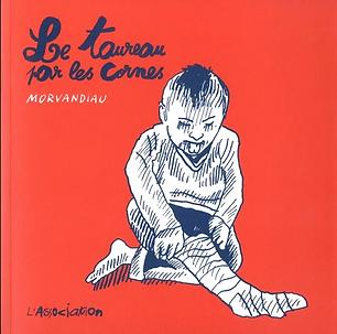Prendre le taureau par les cornes, voilà le leitmotiv de Morvandiau. L'auteur de dessin de presse et de bande dessinée né en 1974 à Rennes doit faire face et ne doit pas fuir ses responsabilités. Plus facile à écrire qu'à faire.