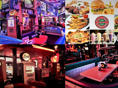 The Filling Station: The Best 50's Style Diner in Makati, Philippines. A Quick Review