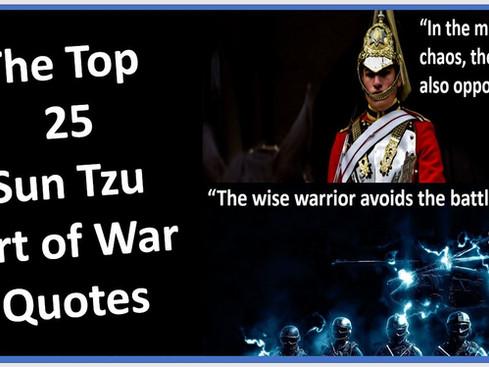 25 Best Sun Tuz Art of War Quotes
