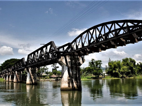 Bridge Over the River Kwai. A Sombering Adventure into the Heart of Thailand