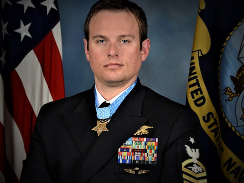 """Medal of Honor Recipient Edward C. Byers, Jr. """"Thank You"""""""