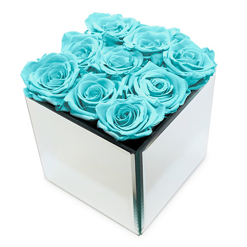 INFINITY ROSE BOX - AQUA