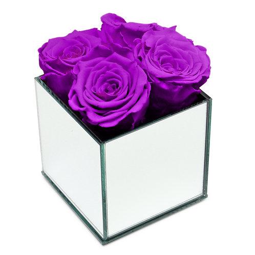 INFINITY ROSE BOX - VIOLET