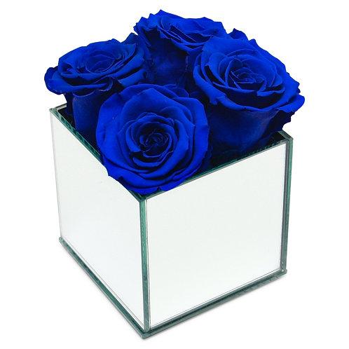 INFINITY ROSE BOX - SAPPHIRE