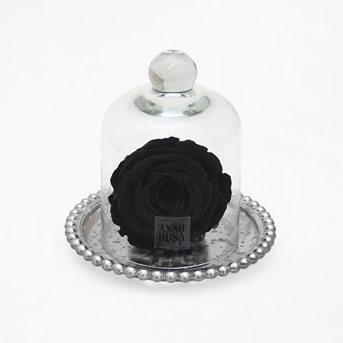 Black Preserved Rose That Lasts A Year
