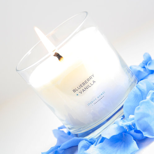 BLUEBERRY & VANILLA - SCENTED CANDLES