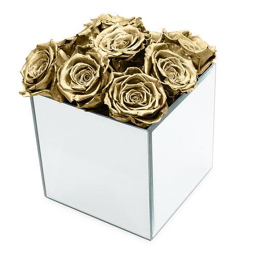 INFINITY ROSE BOX - GOLD