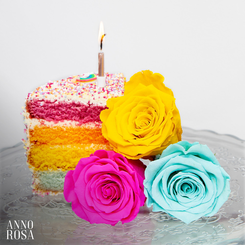 Eternity Rose Birthday Gifts