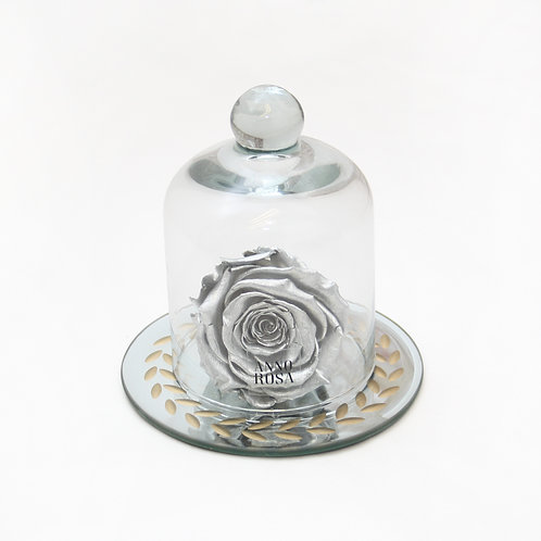 Silver Eternal Preserved Rose that lasts a year