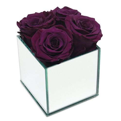 INFINITY ROSE BOX - PURPLE