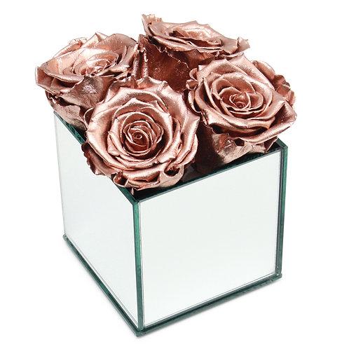 INFINITY ROSE BOX - ROSE GOLD