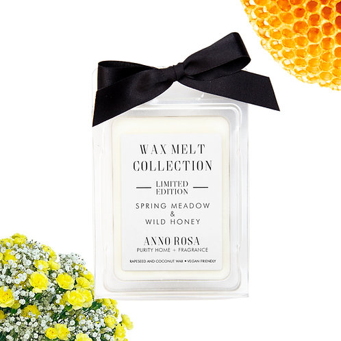 LIMITED EDITION - SPRING MEADOW & WILD HONEY WAX MELTS