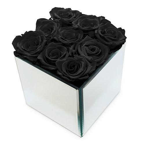 INFINITY ROSE BOX - BLACK