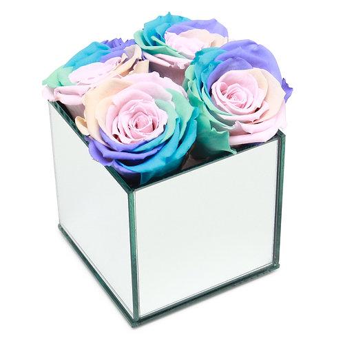 INFINITY ROSE BOX - RAINBOW