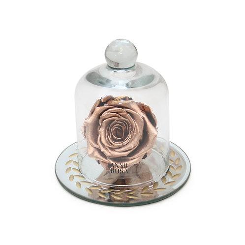 VINTAGE BELLE SINGLE INFINITY ROSE - ROSE GOLD