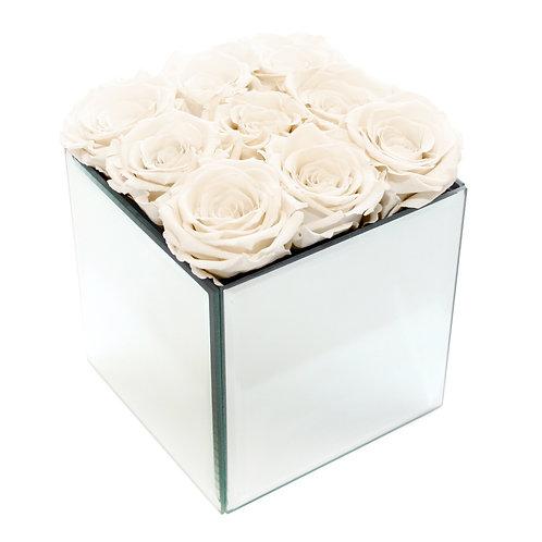 INFINITY ROSE BOX - IVORY