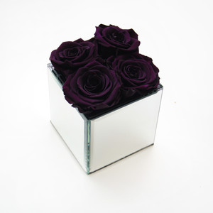 Purple preserved roses purple rose year long rose forever rose eternity rose roses that don't die