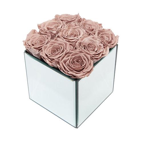 INFINITY ROSE BOX - MINK