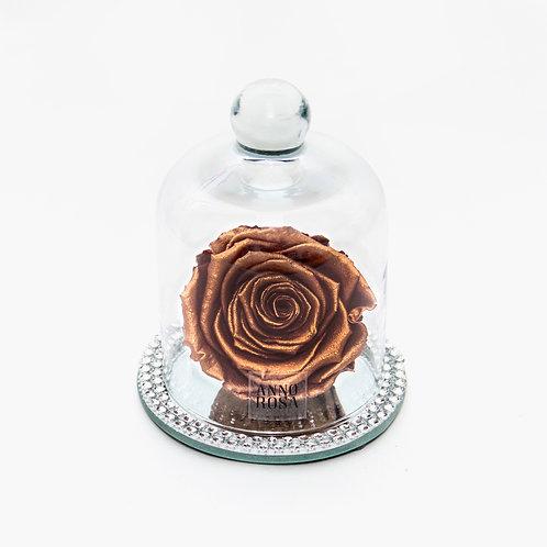 DIAMANTÉ BELLE SINGLE INFINITY ROSE - ROSE GOLD