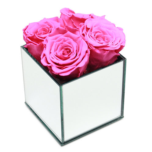 INFINITY ROSE BOX - FUCHSIA PINK