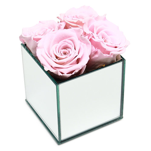 INFINITY ROSE BOX - PINK