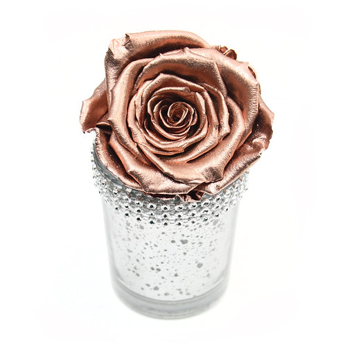 Rose Gold Infinity Rose that lasts a year