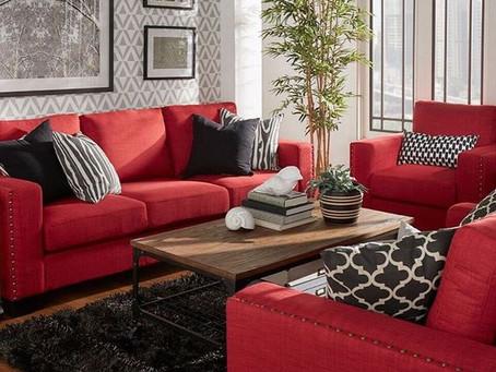 Red Interior Design | Anno Rosa