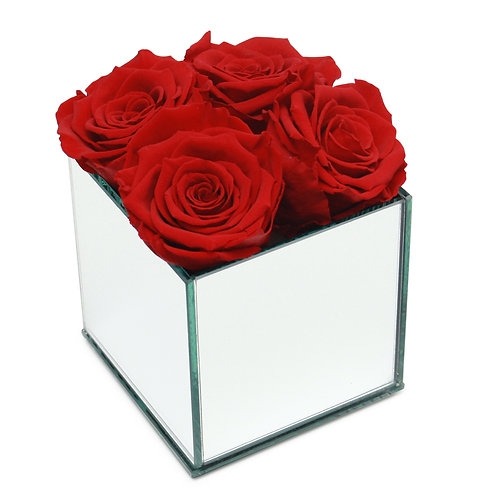 INFINITY ROSE BOX - RED