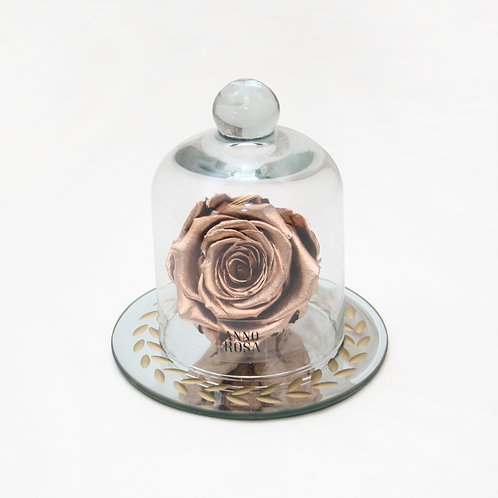 Rose Gold Eternal Preserved Rose that lasts a year