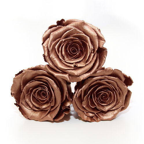 Rose gold roses that will last a year