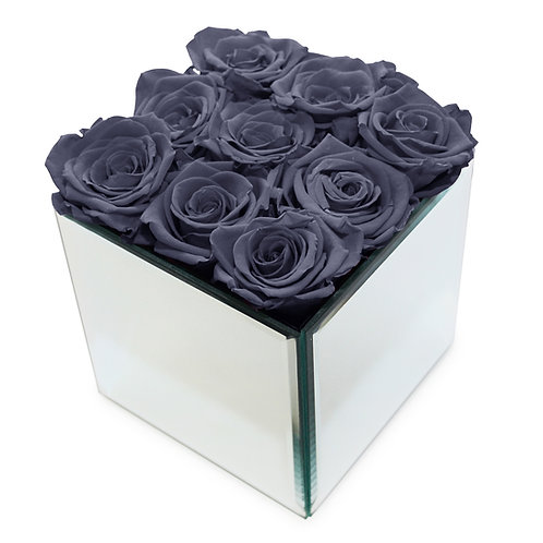 INFINITY ROSE BOX - GREY