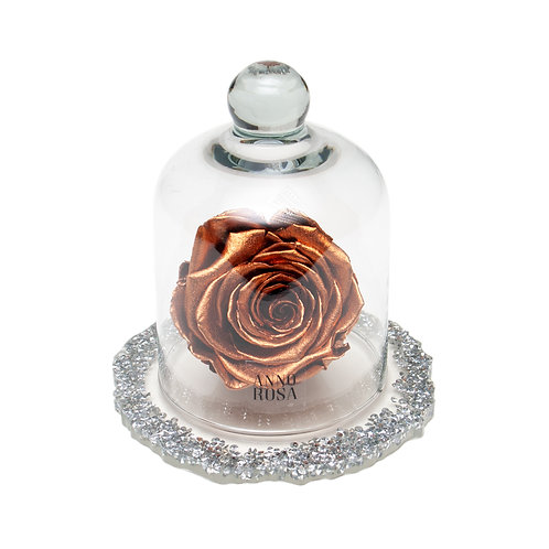 DIAMANTE BELLE SINGLE INFINITY ROSE - ROSE GOLD