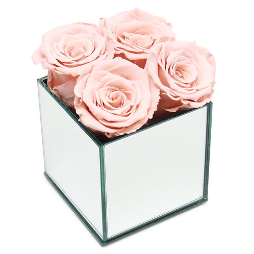 INFINITY ROSE BOX - PEACH