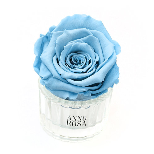 """BABY BOY"" BIRTH COLLECTION - ELEGANT BABY BLUE ROSE"