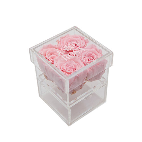 PINK INFINITY ROSE KEEPSAKE BOX
