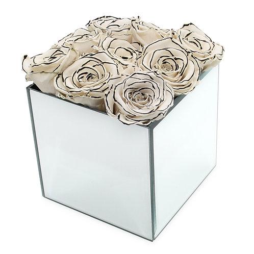 INFINITY ROSE BOX - ZEBRA