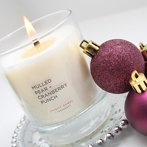 MULLED PEAR & CRANBERRY PUNCH - SCENTED CANDLES