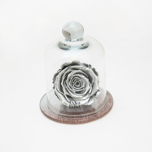 Silver Eternity Rose that lasts for a year