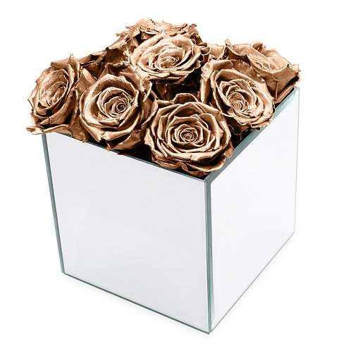 INFINITY ROSE BOX - ROSE GOLD