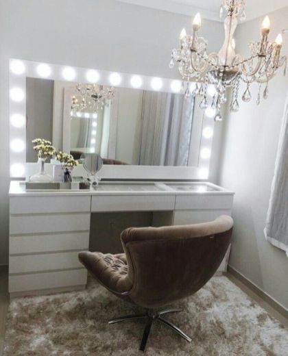 Vanity room ideas.