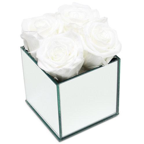 INFINITY ROSE BOX - WHITE