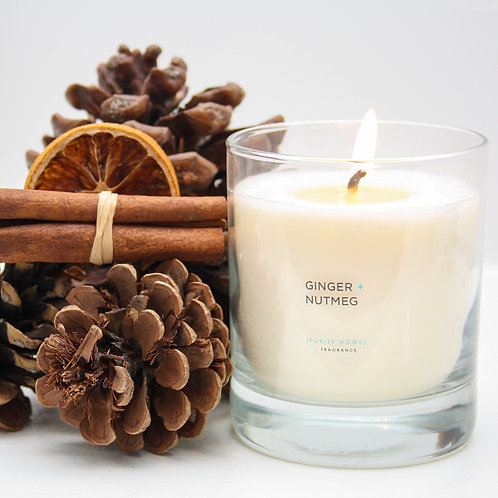 GINGER & NUTMEG - SCENTED CANDLES