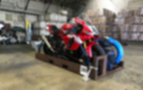 Motorcycle Delivery for track day