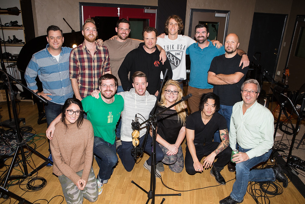 rockin road to dublin in the studio