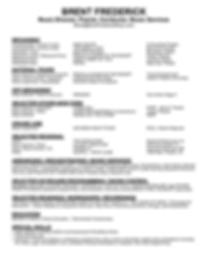 Brent Frederick Music Direction Resume.p